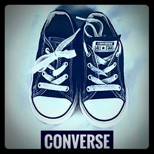 Converse All Star Shoes Size 8 Navy White